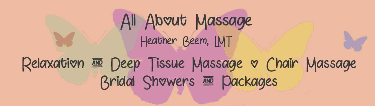 All About Massage - Cadillac Mi - Deep Tissue, Relaxation, Chair,  Craniosacral Therapy